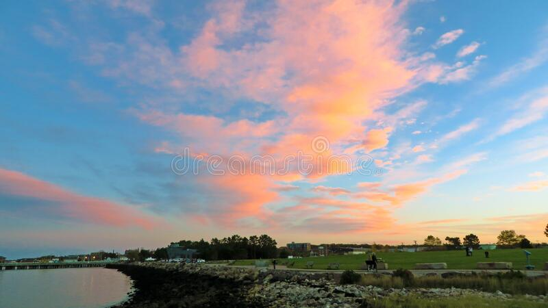 Colors in the Sky royalty free stock photos