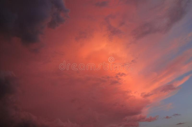 Colors of the sky royalty free stock photography