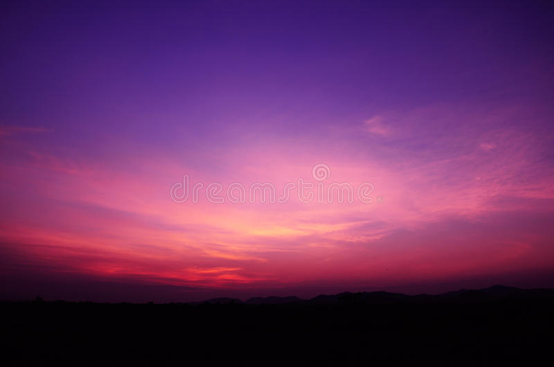 Colors of the sky. royalty free stock image