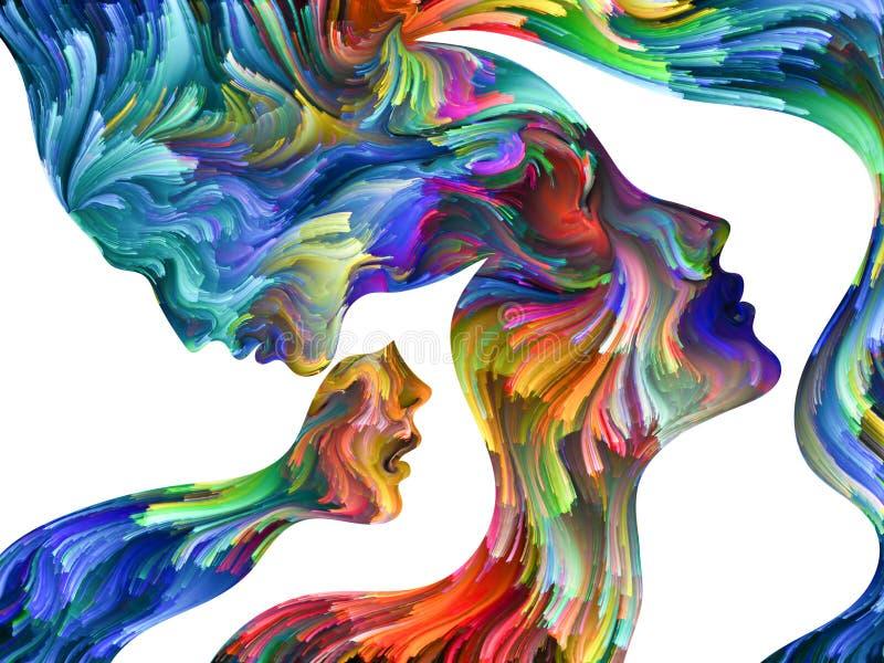 Abstract Portrait vector illustration