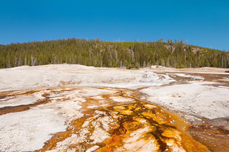 Colors Of Yellowstone Stock Images