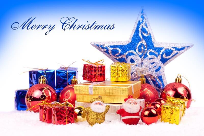 Download Colory Weihnachtshintergrund Stockfoto - Bild von geben, kasten: 12201564