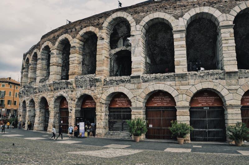 Coloseum de Verona fotos de stock
