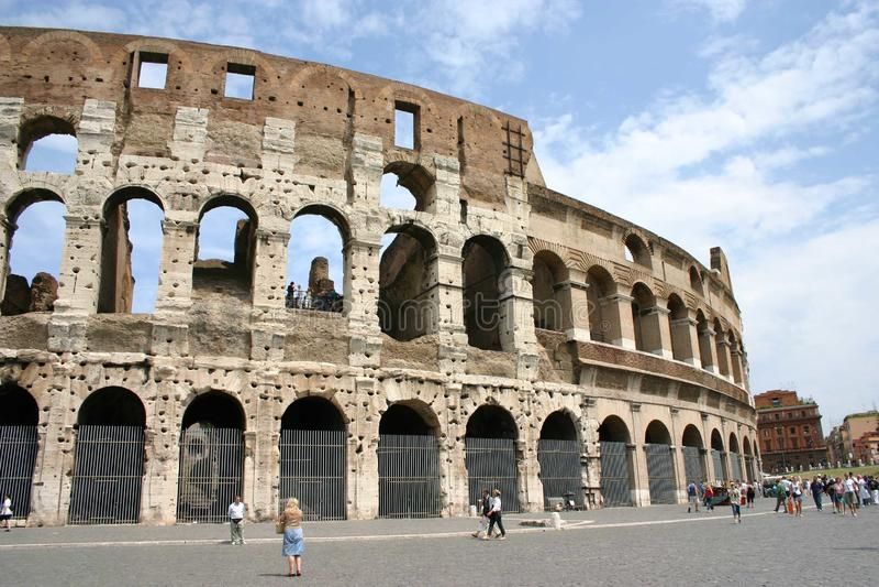 Coloseum italy rome stock photo