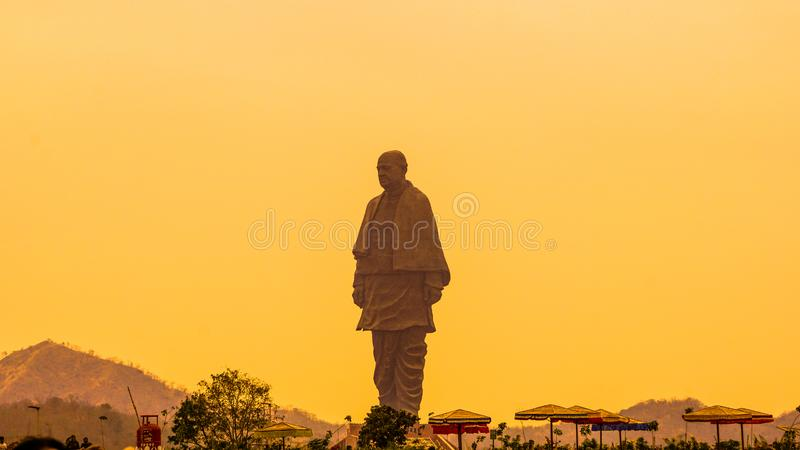 Statue of unity royalty free stock images