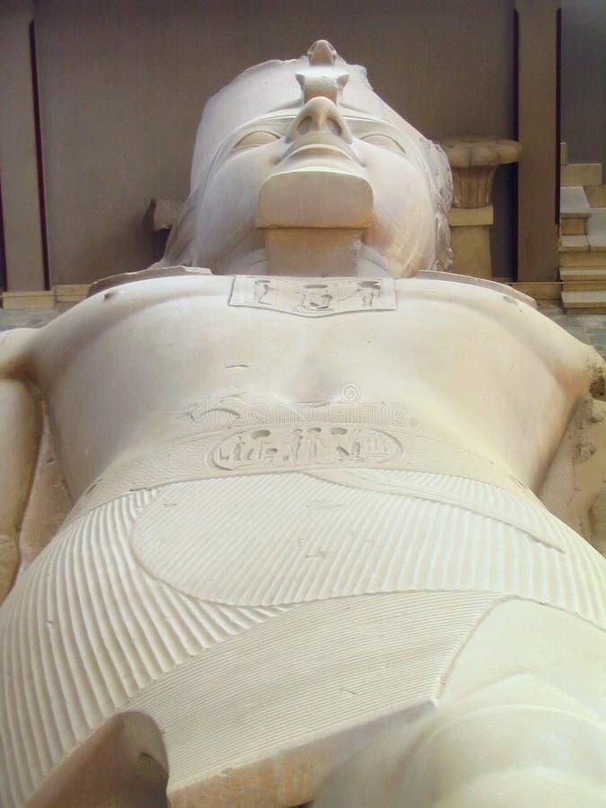 Colosse de Ramesses II, Memphis, Egypte photographie stock libre de droits