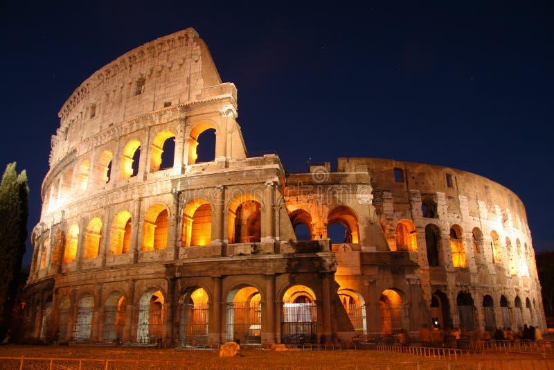 Coliseum in Rome stock photo