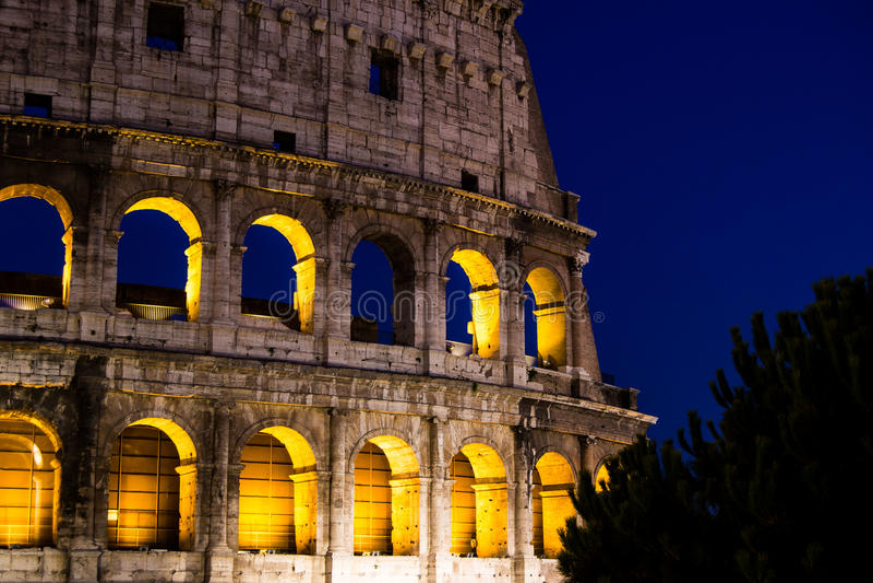 Colosseo arkivbild