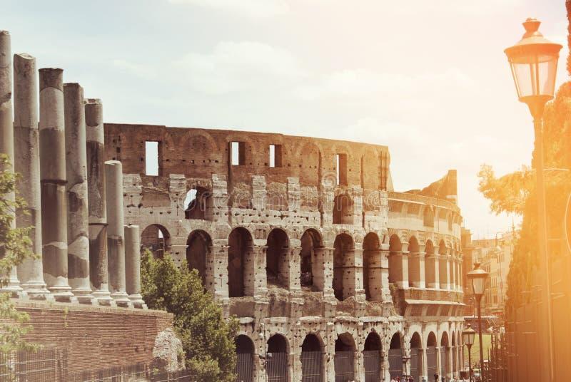 Colosseo di Colosseum a Roma, Italia, Europa fotografia stock