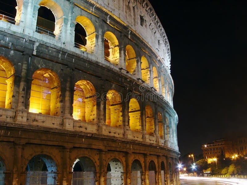 Colosseo Przy Nocą, Rzym Bezpłatny Obraz Stock