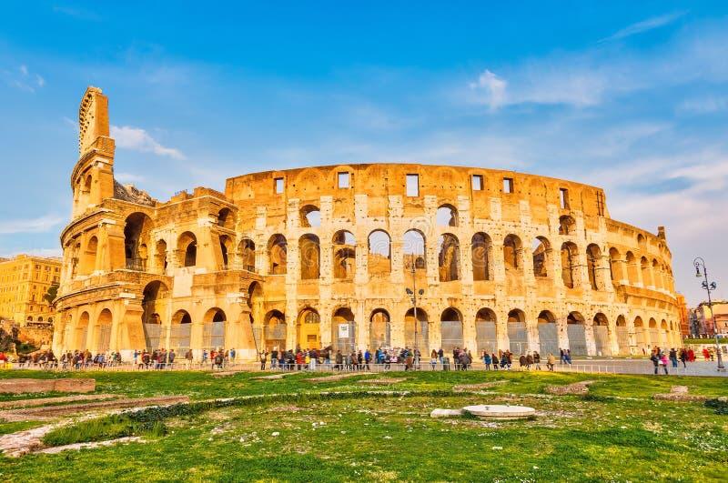 Colosseo a Roma fotografia stock libera da diritti