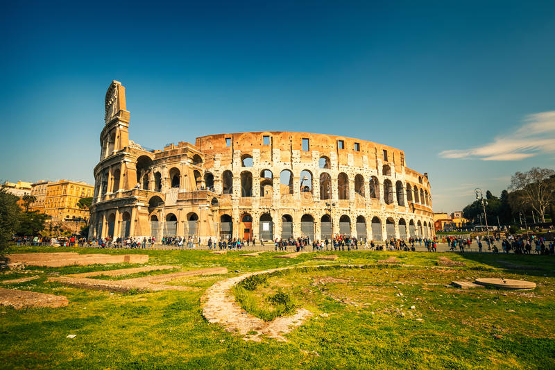 Colosseo a Roma immagine stock libera da diritti
