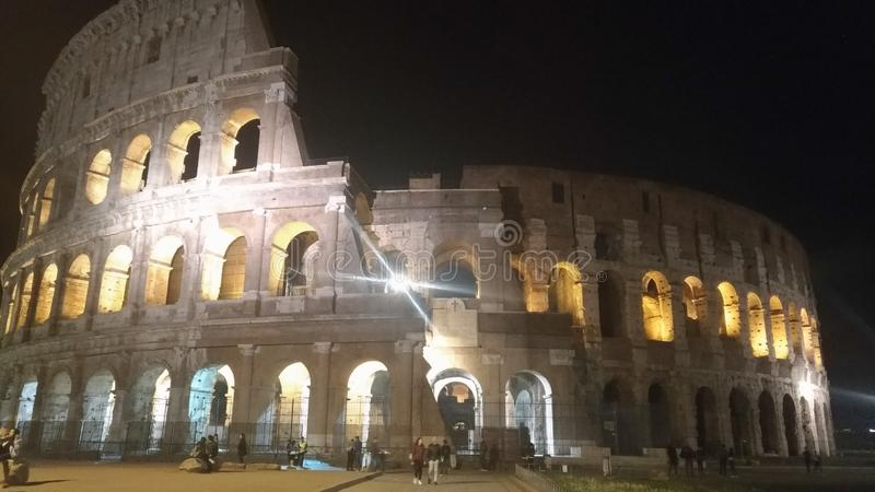 Colosseo Roma. Colosseo. Colosseum, italy, rome, architecture, blacksky royalty free stock images