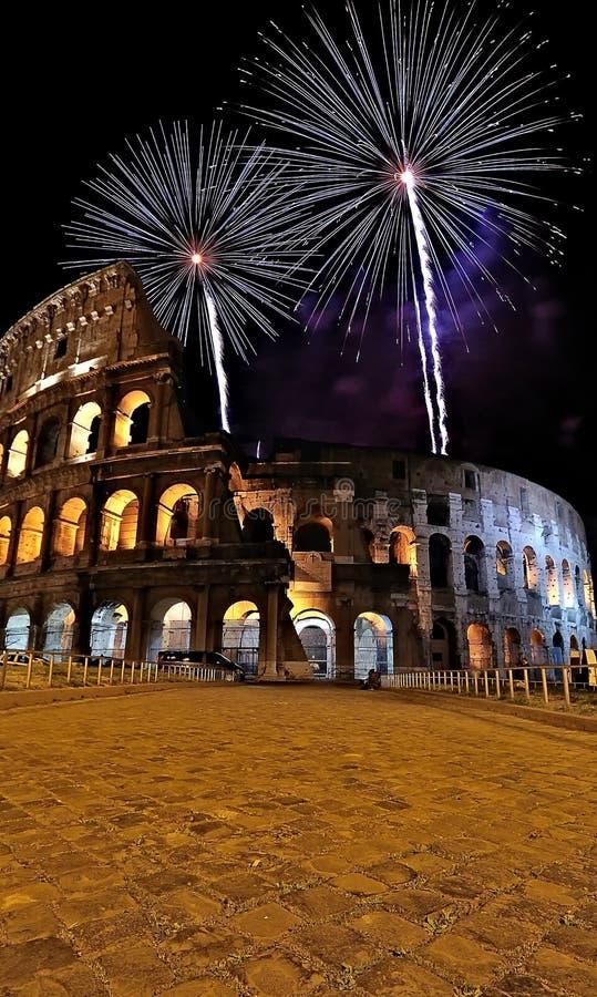 Colosseo romano. fotografia stock