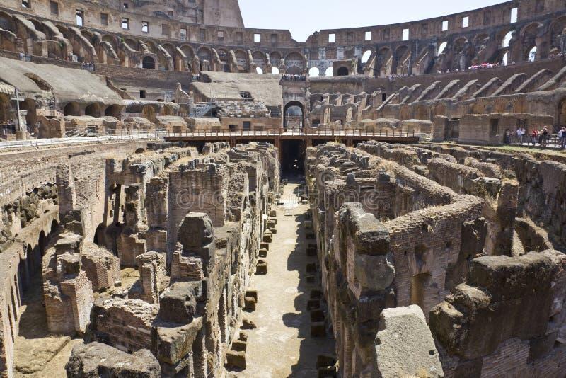 Colosseo romano immagini stock
