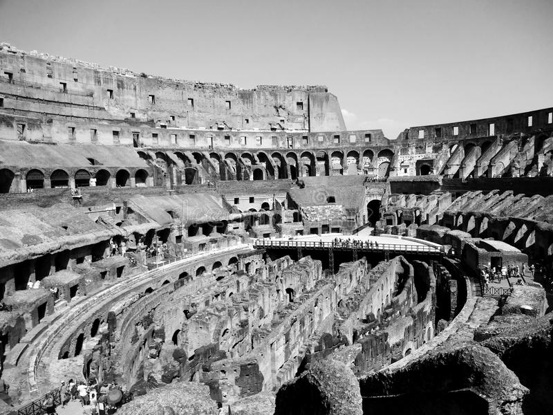 Download Colosseu di Rome fotografering för bildbyråer. Bild av italy - 76703595