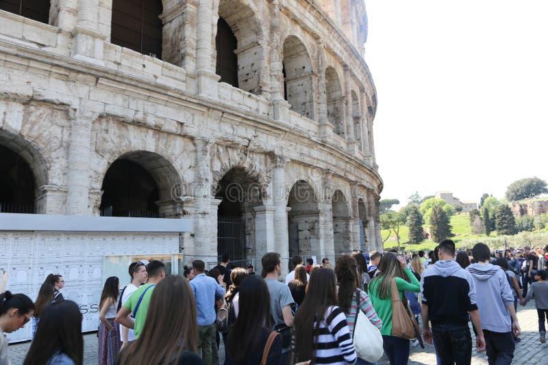 colosseum罗马罗马 免版税库存照片