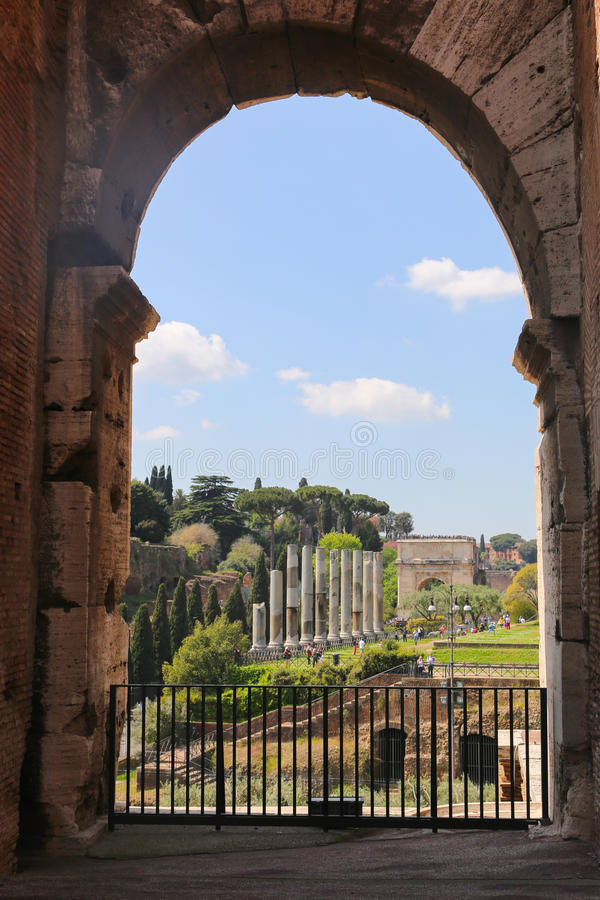 colosseum罗马罗马 免版税库存图片