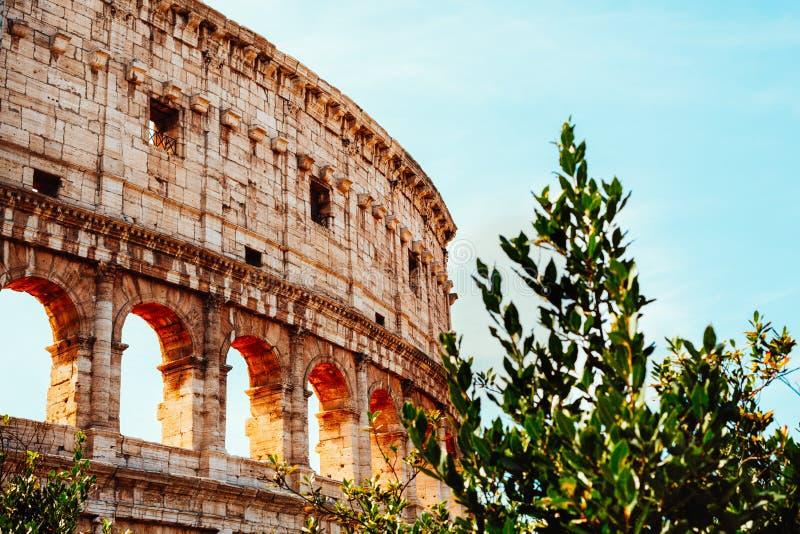 Colosseum à Rome images stock