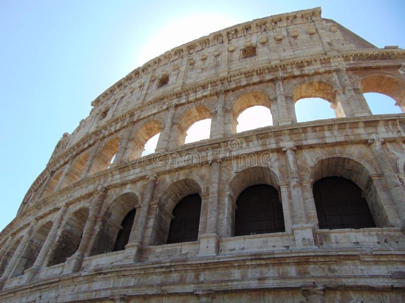 Colosseum à Rome, Italie images libres de droits