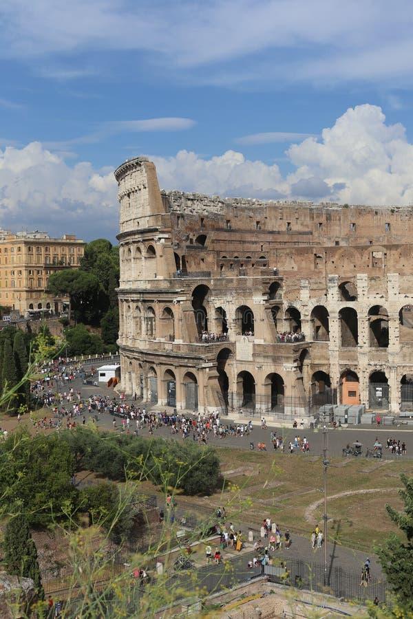 colosseum διάσημη Ιταλία η περισσότερη όψη της Ρώμης θέσεων στοκ εικόνα