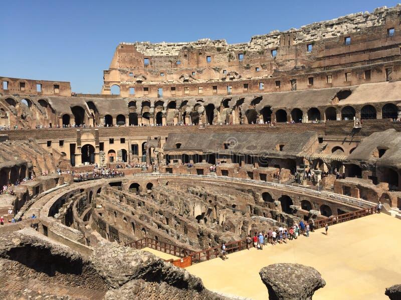 colosseum μέσα στοκ φωτογραφίες με δικαίωμα ελεύθερης χρήσης