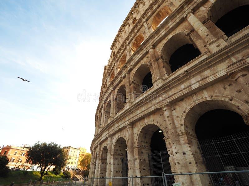 Colosseum, παγκόσμια κληρονομιά της Ιταλίας με το μεγαλείο των Ρωμαίων στοκ εικόνες