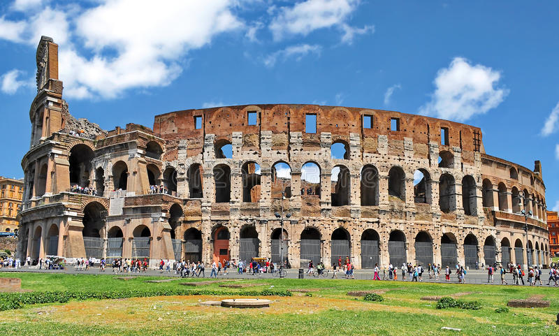 Colosseum Ρώμη, Ιταλία στοκ εικόνες