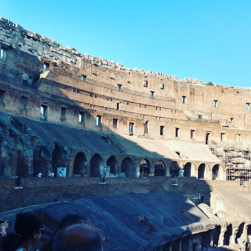 Colosseum στο καλύτερό του στοκ εικόνες με δικαίωμα ελεύθερης χρήσης