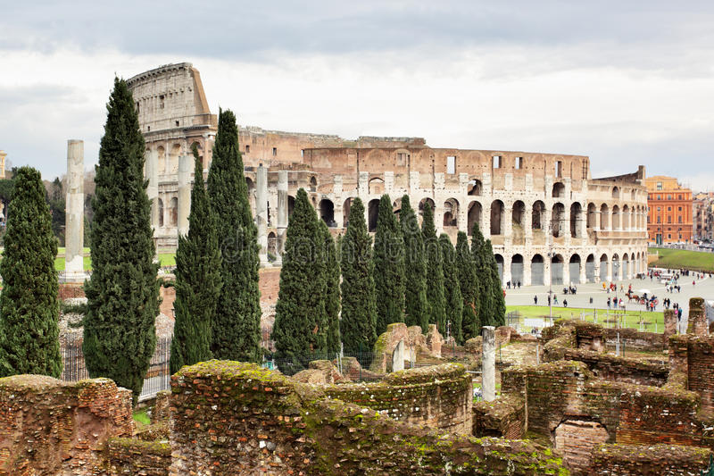 Download The Colosseum stock image. Image of architecture, colosseum - 18199467