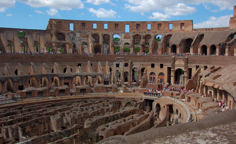 Colosseum 2 Royalty Free Stock Images