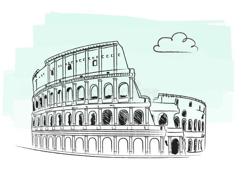 Colosseum ilustração stock