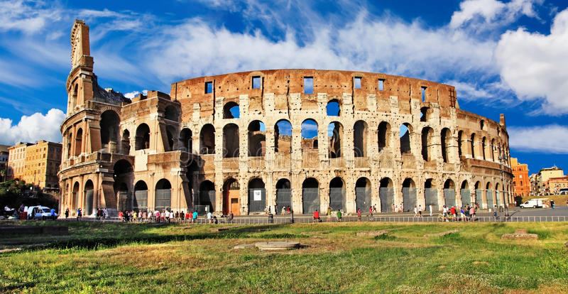 Download Colosseum stock image. Image of cloud, arches, building - 26968711