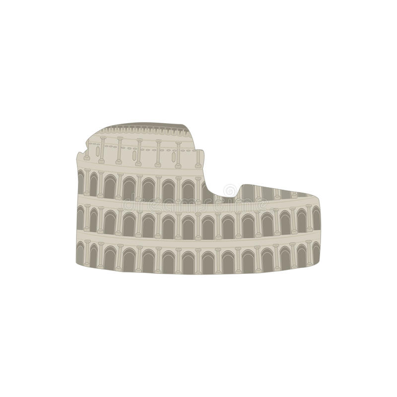 Download Colosseum stock vector. Illustration of archaeology, italy - 28929770