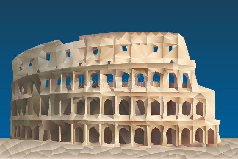 Colosseum ilustração royalty free