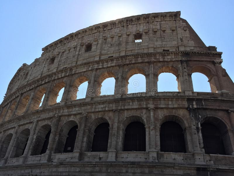 Colosseum στοκ εικόνα με δικαίωμα ελεύθερης χρήσης
