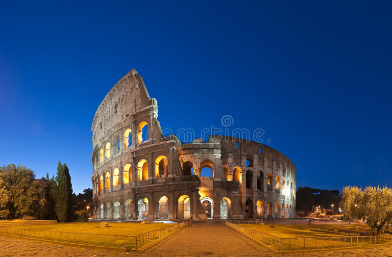 Colosseum, Colosseo, Rom stockbild