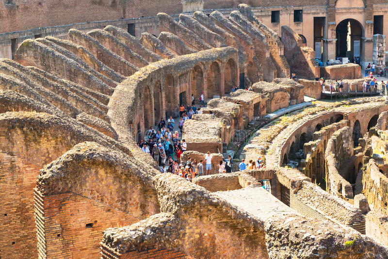 Colosseum (Colosseo) a Roma, Italia fotografia stock