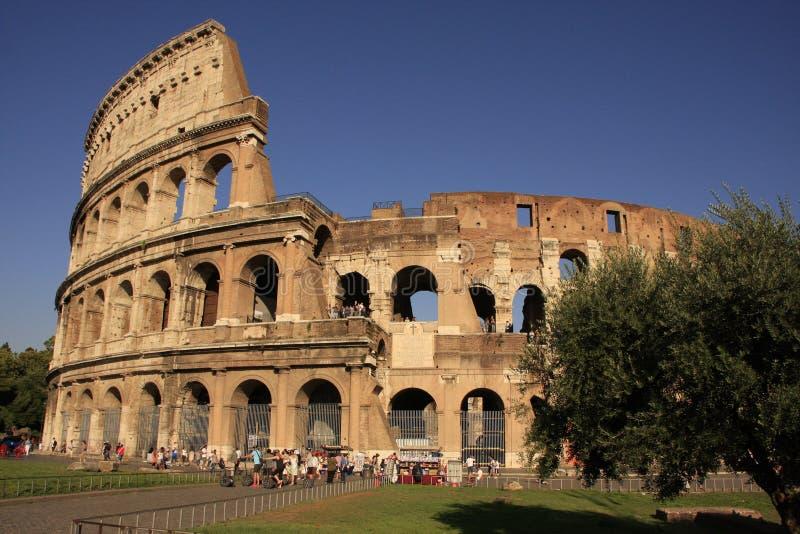 Colosseum de Rome, Italie image libre de droits