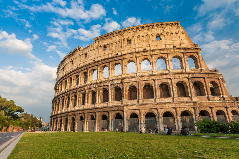 Colosseum em Roma imagens de stock royalty free