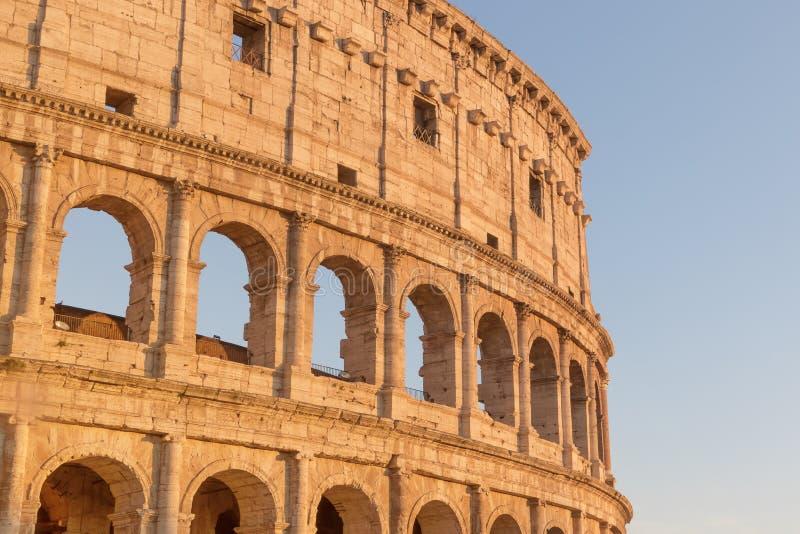 Colosseum em Roma Italy fotos de stock royalty free