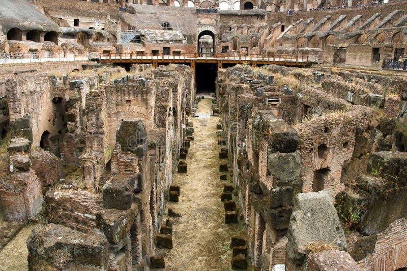 Colosseum em Roma, Italy imagem de stock