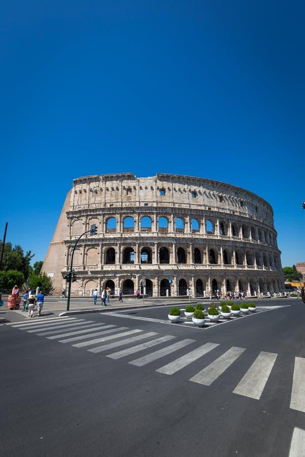 Colosseum em Roma, Italy foto de stock royalty free