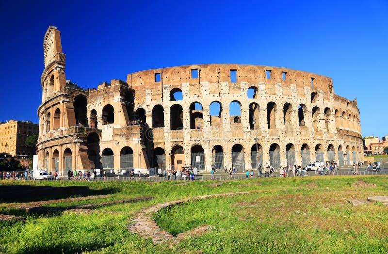 Colosseum en Roma foto de archivo