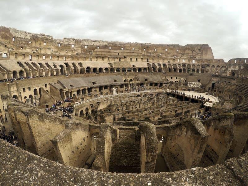 Colosseum en Roma, Italia imagen de archivo libre de regalías
