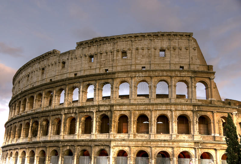 The Colosseum HDR royalty free stock photos