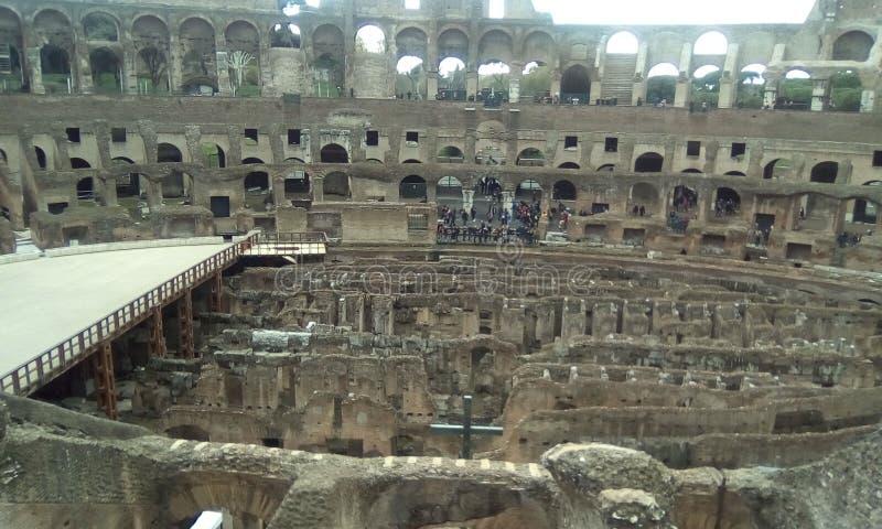 Colosseum, historyczny miejsce, historia starożytna, antyczny Rome, amphitheatre obraz royalty free