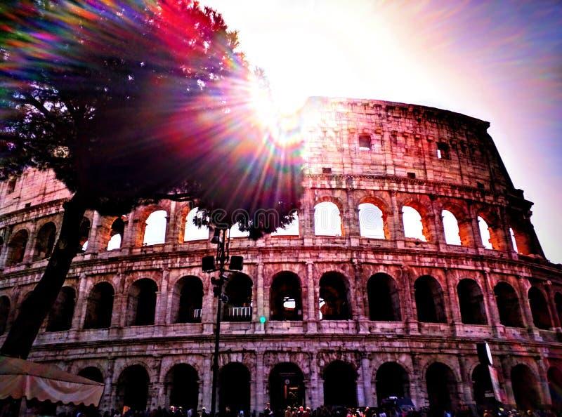 Colosseum i Rome arkivbild