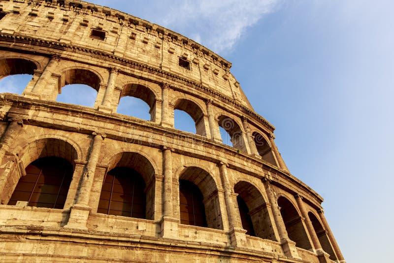 Colosseum i Rome, Italien arkivfoto