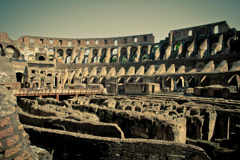 Download Colosseum inside stock photo. Image of italy, history - 26107454